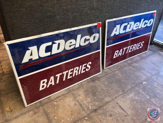"{{2X$BID}} ACDelco Batteries Signage Measuring 36"" X 24"""