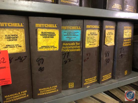 Mitchell Manuals for Electrical Component Locator '70's and '80's Models and Heating and Air
