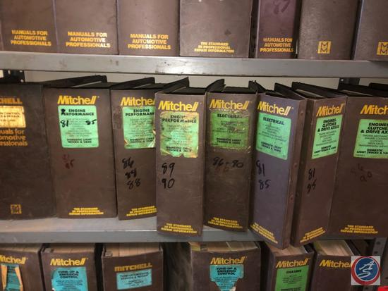 Mitchell Engine Performance Manuals for '80's Models, Mitchell Engines, Clutches, and Drive Axels