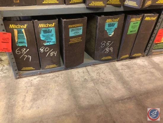 Mitchell Tune-Up and Emission Control Manuals for Late '60's thru '80's Models, Tune Up and Emission