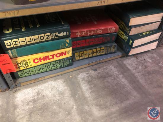 Assorted Chilton Engine Service Repair, Wiring and Vacuum Diagram Manual, Electronic Engine Control