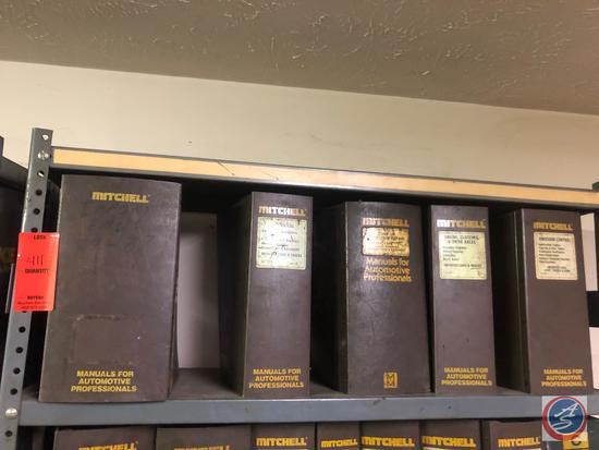 Assorted Mitchell Electrical, Engine Emissions and Tune Up Manuals for Unknown Years