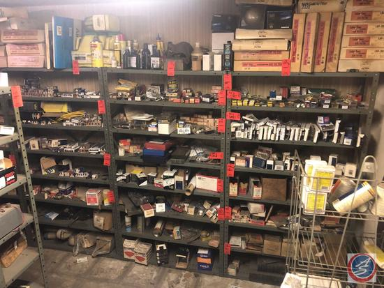"""{{3X$BID}} Eight Tier Shelving Units Measuring 36"""" X 12"""" X 64"""" [[CONTENTS NOT INCLUDED]]"""