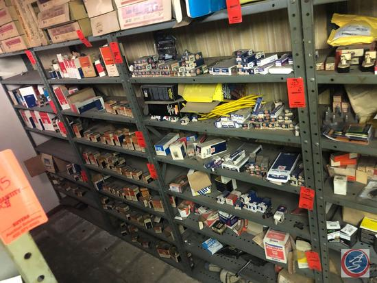 """{{2X$BID}} Eight Tier Shelving Units Measuring 36"""" X 12"""" X 64"""" [[CONTENTS NOT INCLUDED]]"""