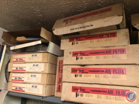Assorted Luber-Finer Carburetor Air Filter's, AC Air Filter AF-541