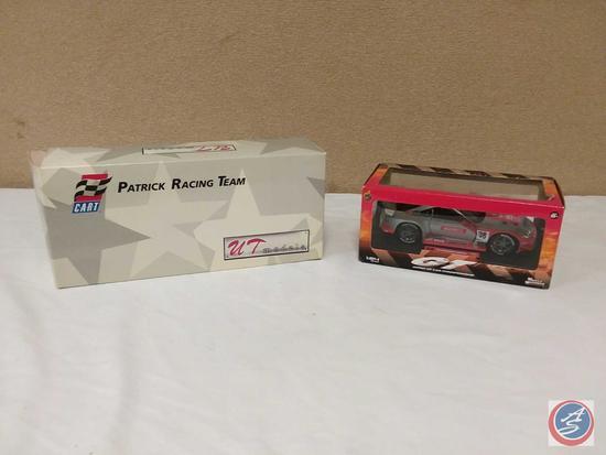 (2) 1:24 Scale Replica Die-Cast Model Race Cars {IOB}