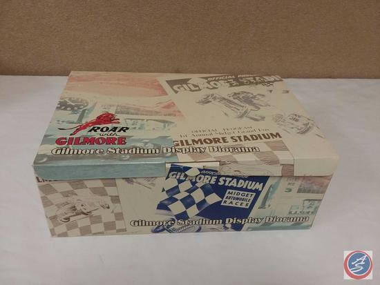 Collectible Scale Model Replica Gilmore Stadium Midget Race Display Diorama {IOB}