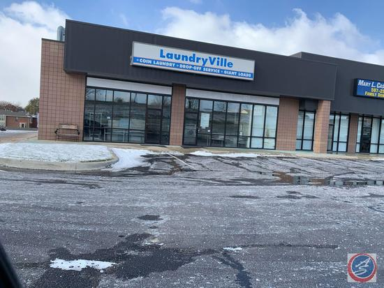 LaundryVille in Papillion has Closed. This Business Sells Complete at Auction 'AS IS' and all for