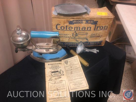 Vintage Coleman Iron Model No. 4A