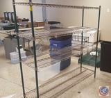 Advance Tabco NSF 4-Shelf Wire Rack 60 x 18 x 63 in.