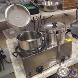 Server Model TWIN FS-4 Dual Soup Warmer w/ Ladles