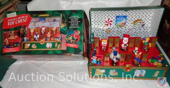 Mr. Christmas Santa's Musical Toy Chest'