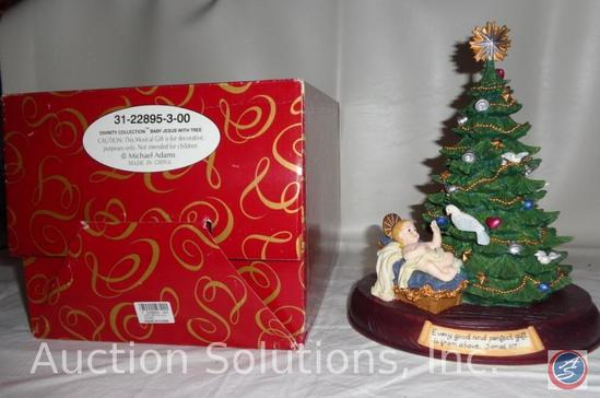 San Francisco Music Box Company 'Baby Jesus with Tree' Divinity Collection 31-22895-3-00