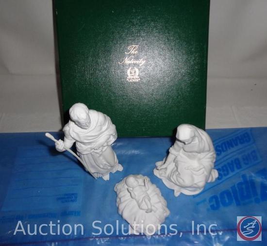 Lenox 3-Piece White Nativity Set