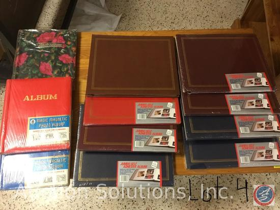11 Magnetic Page Photo Albums, 5 Pocket Photo Books