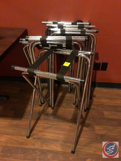 (7) Serving Tray Stands