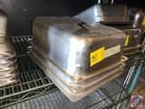 (3) Volrath Super Pan I Stainless Steel Steam Table Inserts