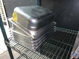 (6) Stainless Steel Steam Table Inserts [[NO MARKINGS]]