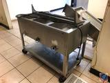 Aerohot Three Bay Portable Steam Table on Casters Measuring 45