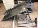 Universal Stainless Steel Partial Dish Washing Station [[DISASSEMBLED]]