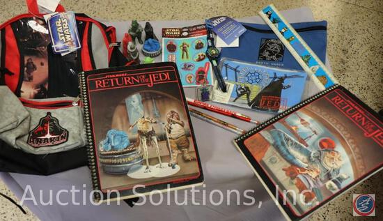Back Pack; Child Watch; Ruler; (3) Sheets of Stickers; Pad of Paper; (4) Pencils; (4) Eraser