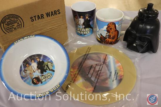 Kellogg?s 'Good Guys' Cup + Bowl Set; Cup + Bowl Set Sealed in Original Box; Anakin / Darth Vader