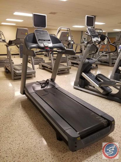 PRECOR Heavy Duty Commercial Treadmill C954i w/ 12'' Cardio Theater LCD TV Display Monitor