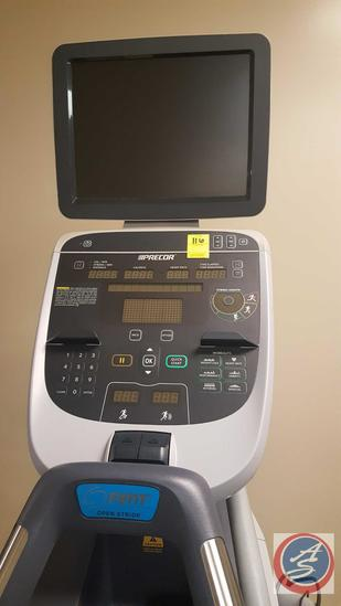 PRECOR AMT 835 w/ Open Stride and 15?? LCD TV Color Display Monitor