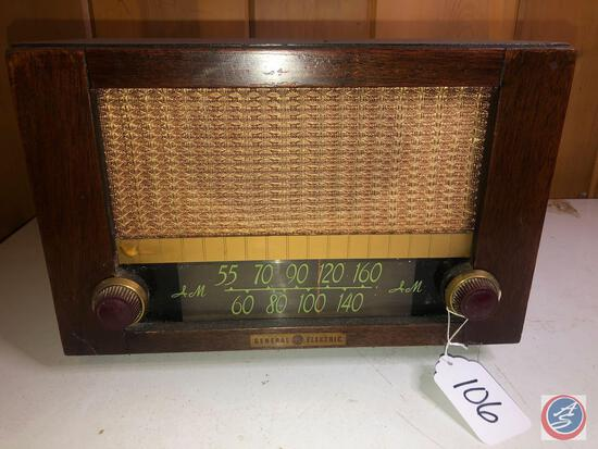 General Electric AM Radio Model No. 410