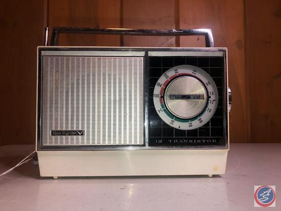 Ross Supreme 12 Transistor Radio Model No. RE-125