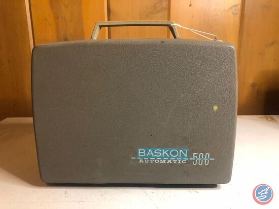 Vintage Baskon Automatic 500 International Projector Model No. A1