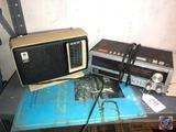 General Electric 3 Way Radio Model No. T2275A and AM/FM Electric Clock Cassette Player Model No.