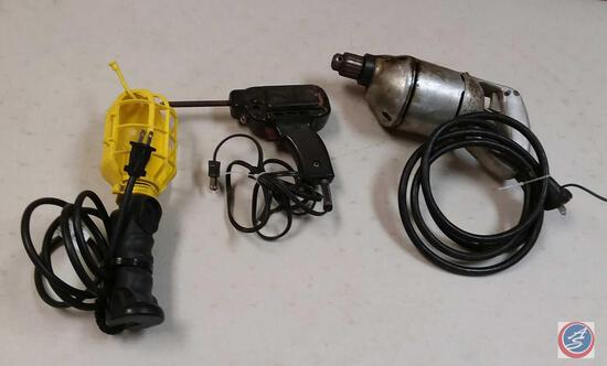 Vintage Black + Decker HD 1/4'' Electric Drill Type L; WEN Model 450 Soldering Tool and an Electric