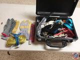 Pelican 1500 Travel Case w/ Contents - Land Rover Hydraulic Jack - Emergency Car Kit - Misc. Hand