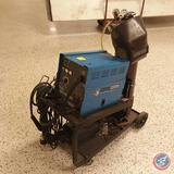 Chicago Electric 220V Dual MIG Welder #94164 on Welding Cart w/ Hood and Accessories