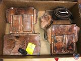 R & J Leather Craft Tool Holders Incl. Models 700 and 407, Leather Belt