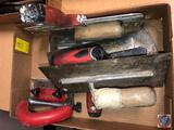 Versa Blade Trowel, Robert's Carpet Trimmer, Large Putty Blade and More