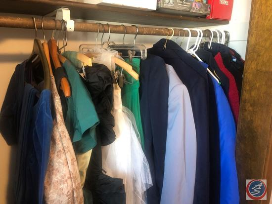 Assorted Men's and Women's Sport Coats and Winter Coats Sizes Unknown