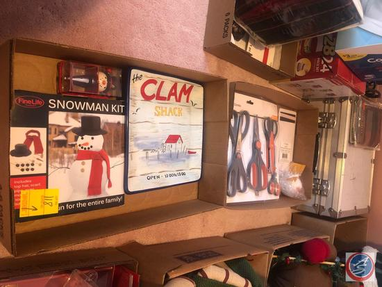 Nikon Optical Underwater View Finder Accessory Kit in Case, Snowman Kit, Clam Shack Ceramic Platter,