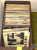 Assorted Records Including Cheap Thrills, Jackie Gleason, Bob Dillon, The Headliners, Disneyland