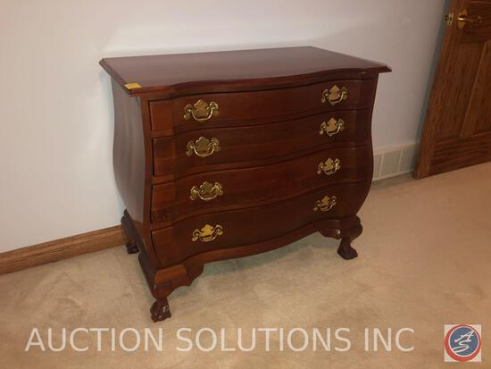 "Wellington Hall Four Drawer Dresser Measuring 36"" X 19 1/2"" X 32"""