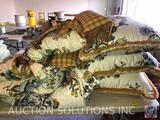 Comforter and Accent Pillows