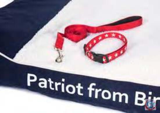 Patriot from Birth Dog Bed Set Man?s best friend deserves only the best. His loyalty and friendship