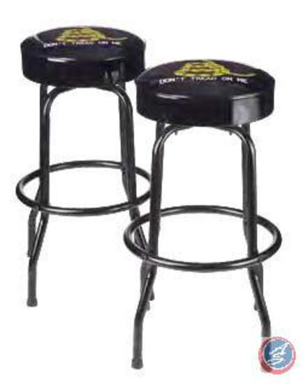 ?Don?t Tread on Me? Bar Stools Inspired by Patriots of the American Revolution, the image of a