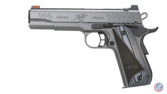 Kimber NRA Protector .45 ACP ? Caliber: .45 ACP ? Barrel Length: 5? ? Capacity: Comes with 8 Round