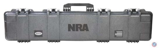 Rifle Case with NRA Logo Preserve the quality and finish of your firearm during travel or storage