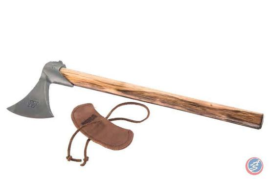 Tomahawk with NRA Sheath Uniquely American, the Tomahawk originated in North America as a