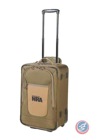 Wheeled Carry-on with Logo Travel in style, from an overnight business trip to a weekend getaway.