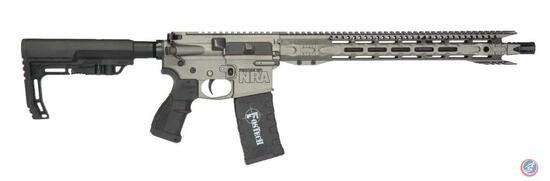 Fostech Eagle Lite Rifle with Friends of NRA Logo Caliber: .223/5.56 ? Action: Semi-Automatic ?
