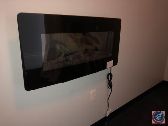 Electric Wall Mounted Fireplace [[NO MODEL NO VISIBLE]]